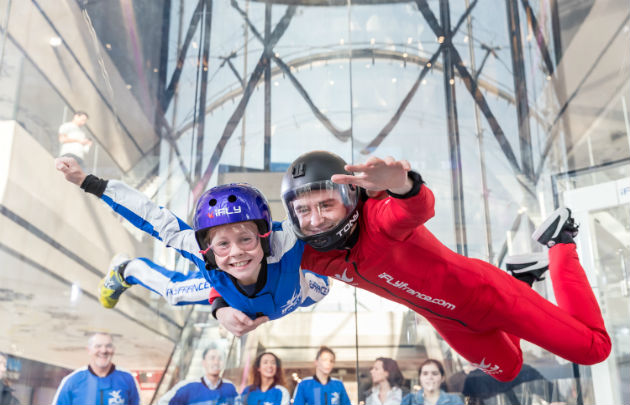 iFLY PARIS - Vol, Paris © David Ken